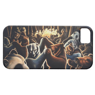 Dancing Bear IPhone 5 Case Wildlife Art  Bear Gift