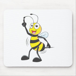 Dancing Bee Mouse Pads
