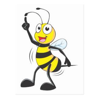 Dancing Bee Postcard
