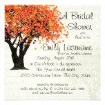 Dancing Blooms Tree Bridal Shower Custom Invite