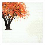Dancing Blooms Tree Invitation