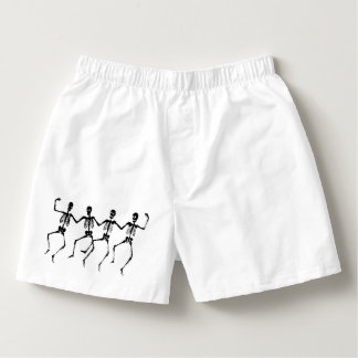 Dancing Bones Boxers