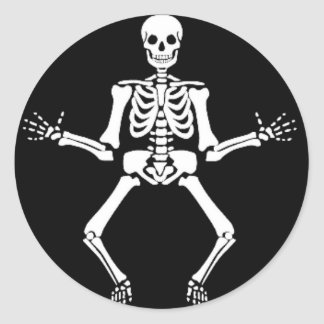 Dancing Bones Sticker