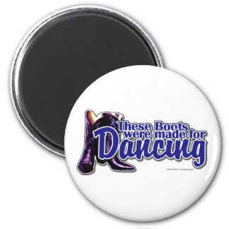 Dancing Boots Refrigerator Magnets