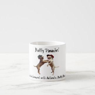 Dancing Bull Terrier Espresso Cup