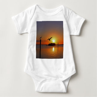 Dancing by Firelight Baby Bodysuit