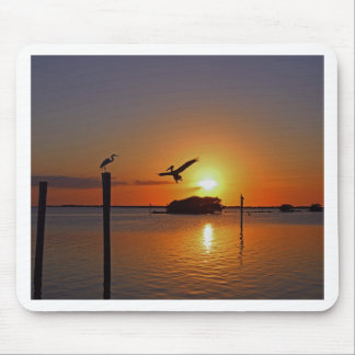 Dancing by Firelight Mouse Pad