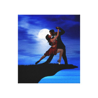 DANCING BY THE MOONLIGHT CANVAS PRINT