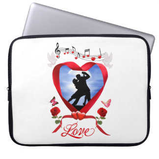 DANCING BY THE SILVERY MOON LAPTOP SLEEVE