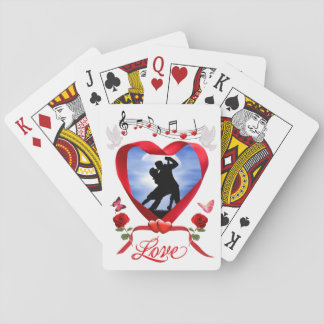 DANCING BY THE SILVERY MOON PLAYING CARDS
