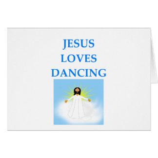 DANCING CARD