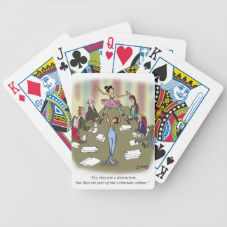 Dancing Cartoon 9386 Bicycle Playing Cards
