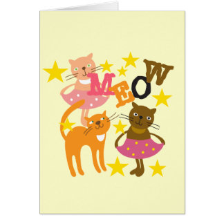 Dancing Cats Cards