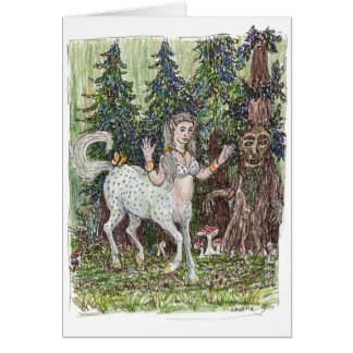 Dancing Centaur Greeting Card