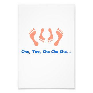 Dancing Cha Cha Feet Art Photo