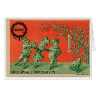 Dancing Children Card
