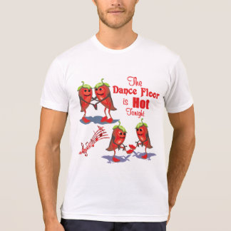 Dancing Chili Peppers Hot Tonight T-Shirt