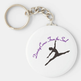 Dancing Comes From the Soul Key Ring