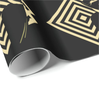 Dancing Couple Ballroom Daners Wrapping Paper