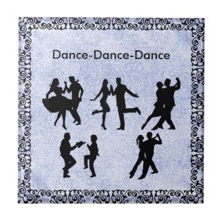 DANCING COUPLE .. CERAMIC TILE