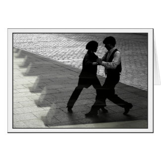 Dancing Couple Notecard