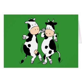 Dancing Cows (mooviestars) Card