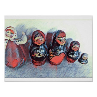 Dancing dolls poster
