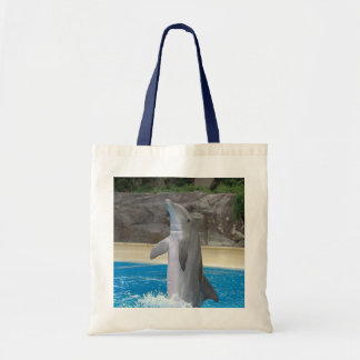 Dancing Dolphin Tote Budget Tote Bag