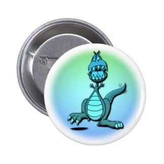 Dancing Dragon Design Button