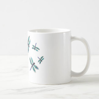 Dancing Dragonfly Art Coffee Mug