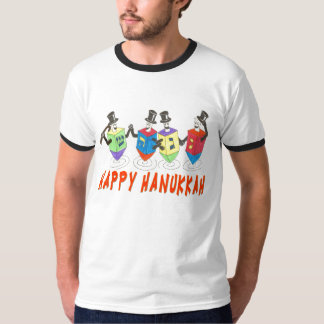 Dancing  Dreidels Happy Hanukkah shirt