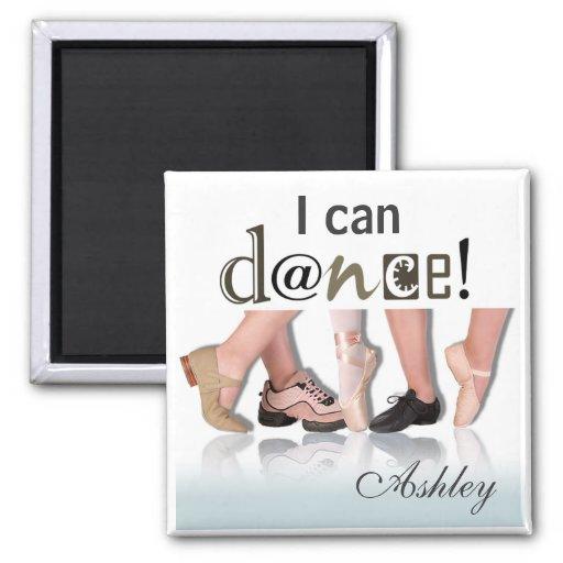 """Dancing Feet"" - Choreographer, Dancer, Instructor Magnets"