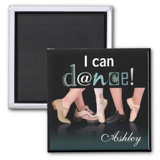 """Dancing Feet"" - Choreographer, Dancer, Instructor Refrigerator Magnet"