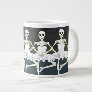 Dancing Female Skeletons Jumbo Mugs
