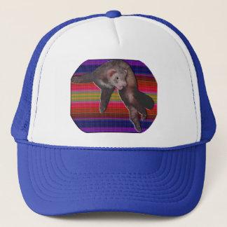 Dancing Ferret Trucker Hat