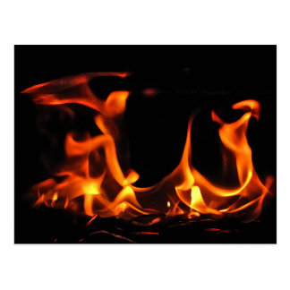 Dancing Fire Postcard
