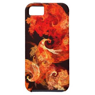 Dancing Firebirds Abstract Art iPhone 5 Tough iPhone 5 Case