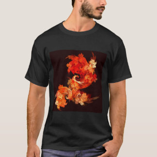Dancing Firebirds Abstract Art T-Shirt
