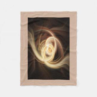 Dancing Flames Fleece Blanket