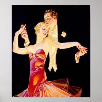 Dancing Flapper Poster