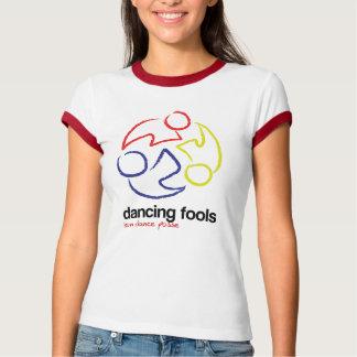 Dancing Fools (ringer t-shirt - logo only)