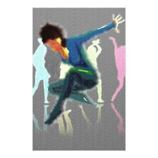 Dancing for Joy Art Stationery Design