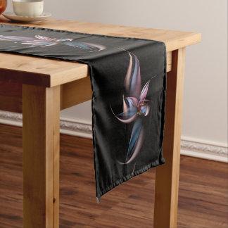 Dancing Fractal Dark Table Runner
