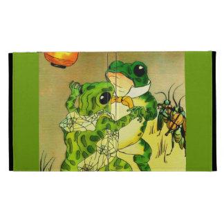 Dancing Frogs iPad Folio Cases