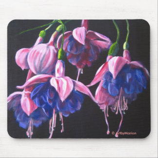 Dancing Fuschias Mouse Mat
