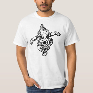 Dancing Ganesha: Art,Science,Intellect,wisdom T-Shirt