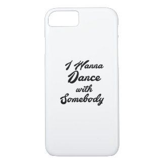 Dancing Gif I Wanna Dance With Somebody iPhone 8/7 Case