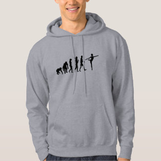 Dancing gifts for ballet and modern dancers hoodie