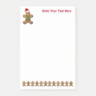 Dancing Gingerbread Cookies Post-it® Notes