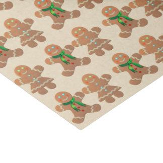 Dancing Gingerbread Cookies Tissue Paper